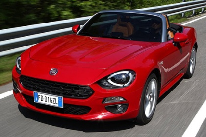 Fiat 124 Spider 1.4 Multiair turbo AT Lusso