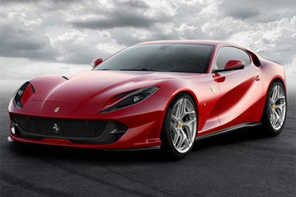 Ferrari 812 Superfast V12 588kW 812 Superfast