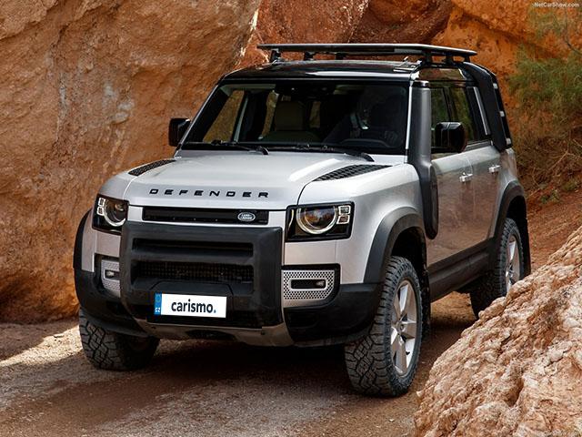 Video: Land Rover Defender 110 Interiér | Carismo.cz
