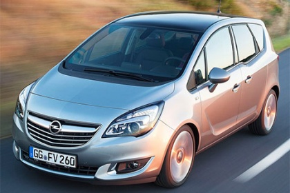 Opel Meriva 1.4 Turbo/103 kW AT drive!