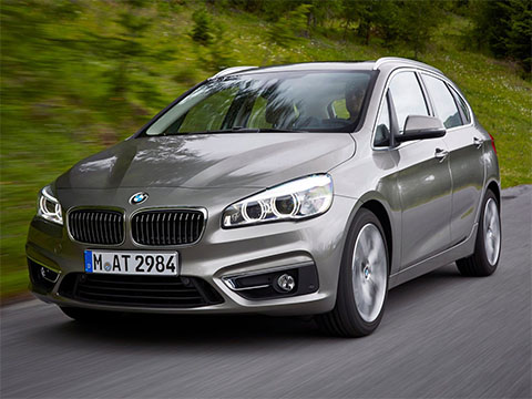 Video: BMW 2 Active Tourer zrychlení BMW 218d Active Tourer | Carismo.cz