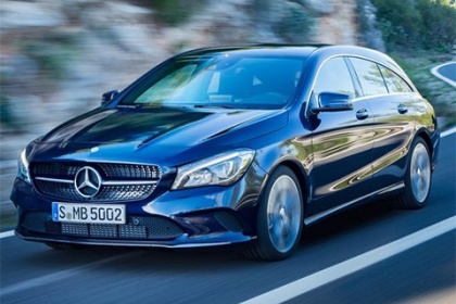 Mercedes-Benz CLA Shooting Brake 220 d 4MATIC 180 AT